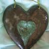 Coeur en vert -55 euros-